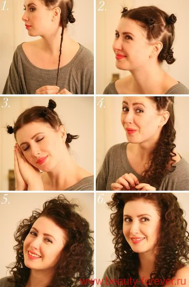 Как сделать кудри волнистые