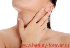 Симптомы заболевания щитовидной железы.