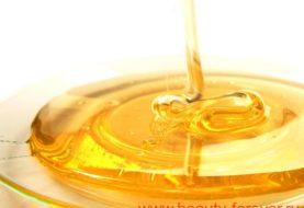 Мед и вода - польза для тебя.
