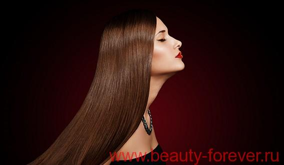 Способы для легкого выпрямления волос.