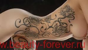 Уход за новой татуировкой.