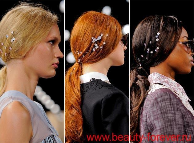 Стильные украшения для волос