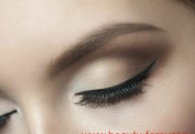 Ежедневный макияж деловой женщины.