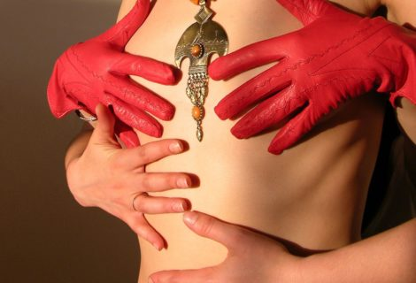 Естественные методы для увеличения грудей.