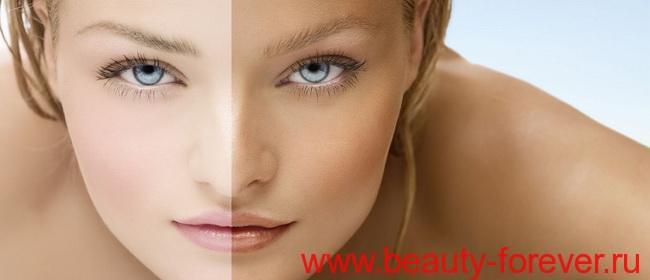 Загар лица: все ЗА и ПРОТИВ