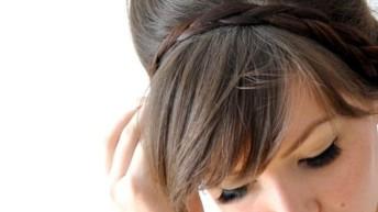 Объемная прическа с косами