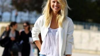 Несколько способов как носить белую футболку