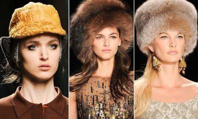 Модные шапки осень - зима 2014 - 2015