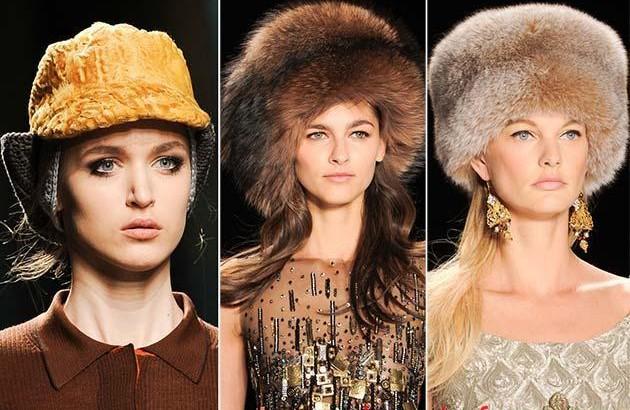 Модные шапки осень – зима 2016