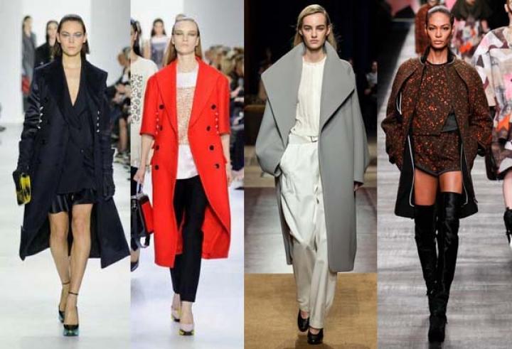 Модные пальто осень-зима 2014-2015, фото
