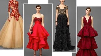 Вечерние платья 2018 : новинки + 100 фото вечерних платьев