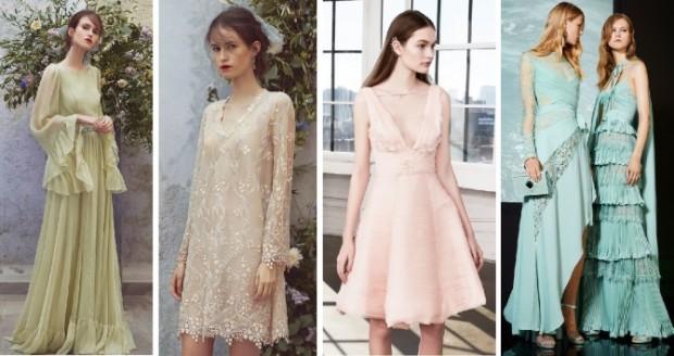 Вечерние платья 2018