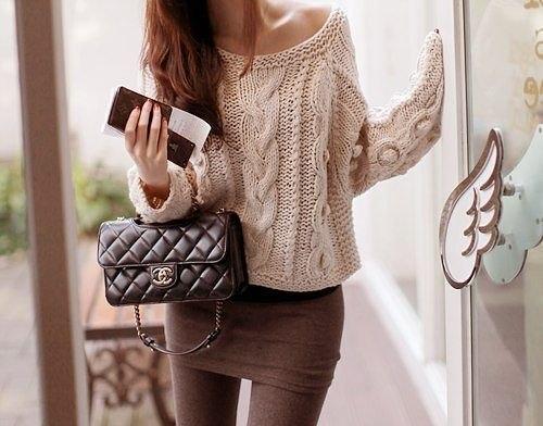 Модные свитера для женщин