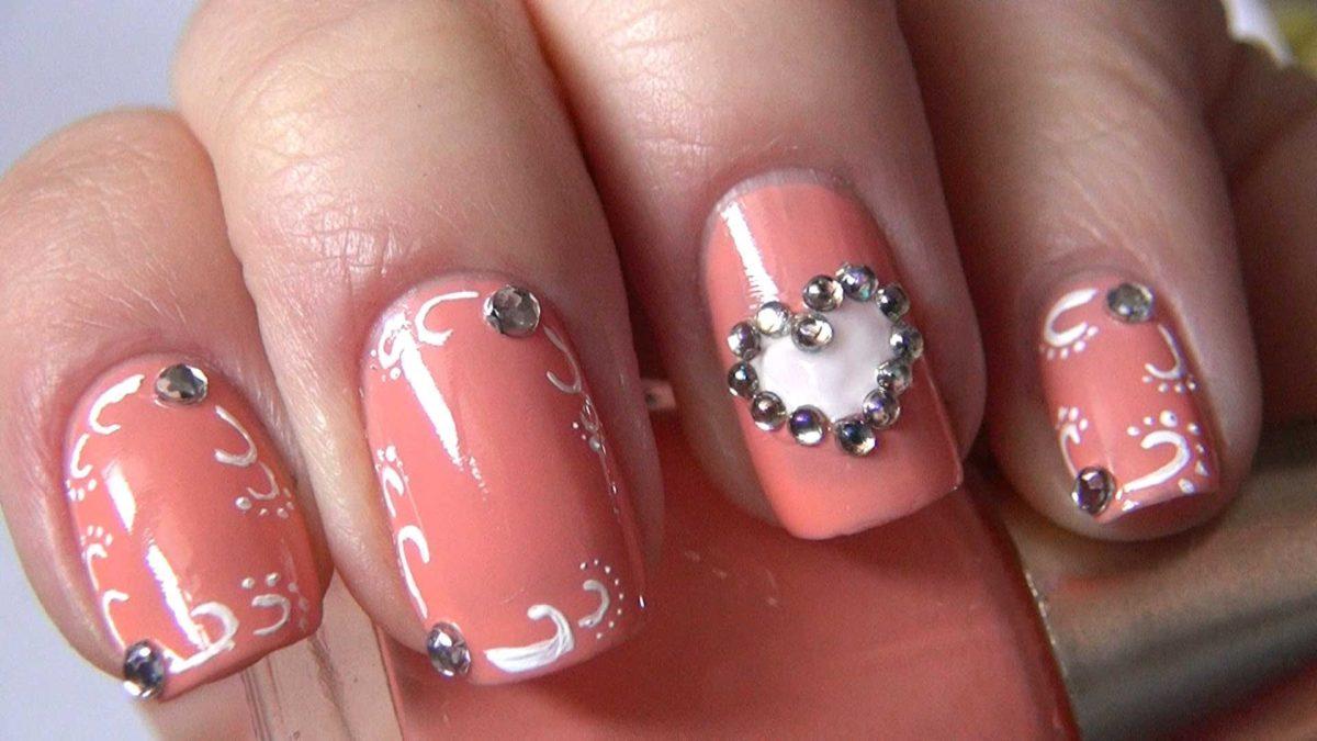 Фото дизайна ногтей к дню святого валентина 68