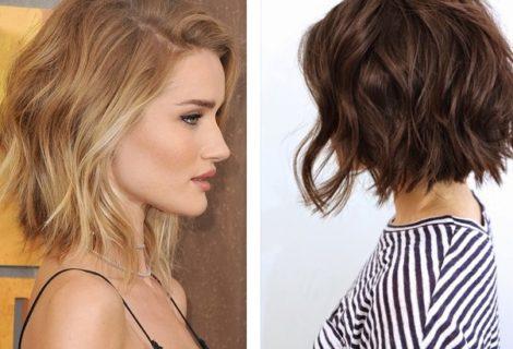 Стрижки для средней длины волос + фото стрижек