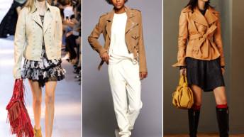 Кожаные куртки 2017 . Фото модных тенденций