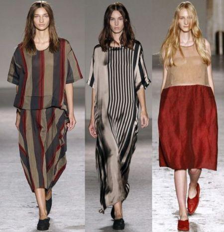 Модные тенденции платьев на 2015