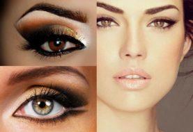 Макияж для девушек - модный акцент на глаза