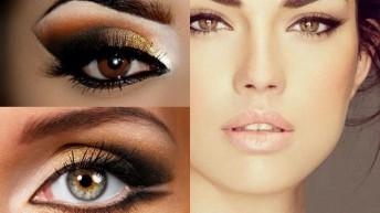 Макияж для девушек – модный акцент на глаза