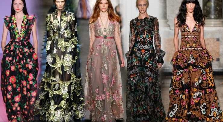 Турецкие модное платья