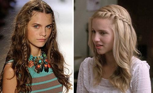 Как носить длинные волосы с челкой распущенные