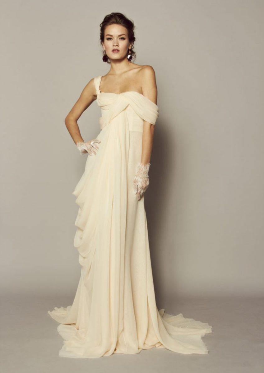 Свадебные платья фото бежевые