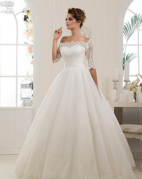 Свадебное платье из анжелики