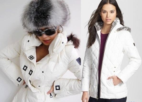 Куртка белая женская спб