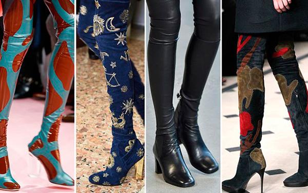 Обувь зима 2016