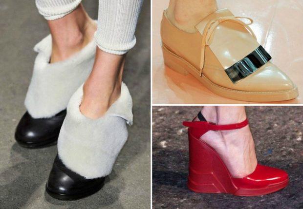 Модная обувь зима
