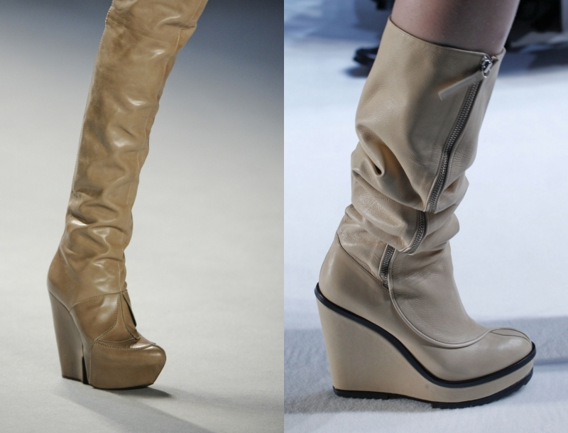 обувь на танкетке 2016 фото
