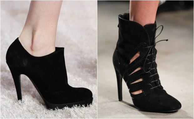 Изящная обувь на шпильке