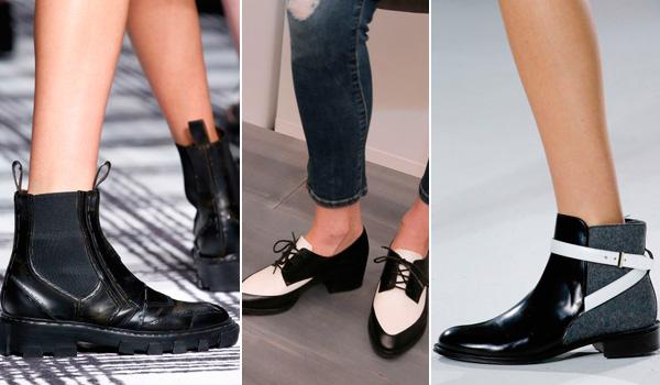 Обувь в мужском стиле