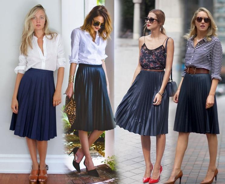 С чем носить юбку в   uinnyru
