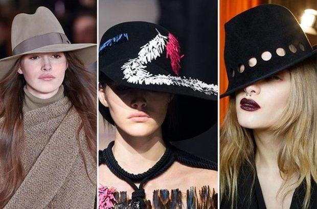 Женские шляпы с полями