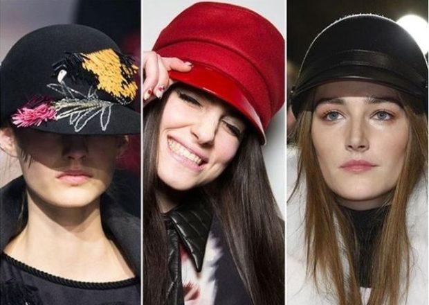 Женские кепи и шлемы