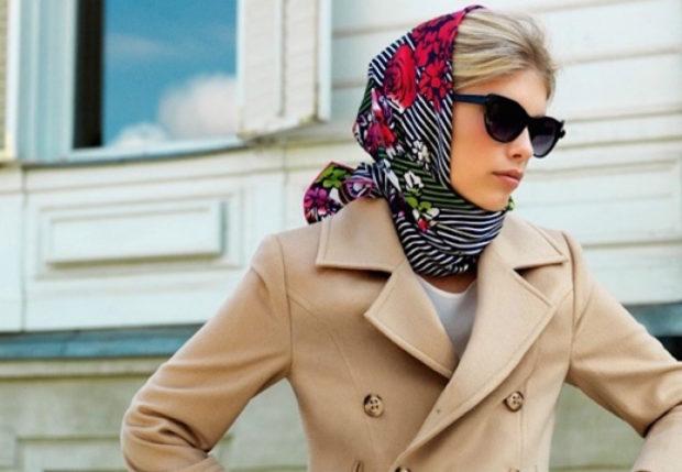 Шелковый платоки