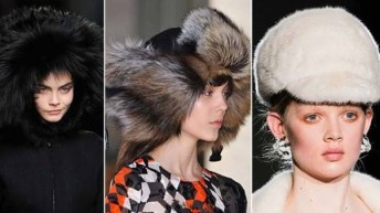 Женские шапки . Осень – зима 2017 + 150 фото