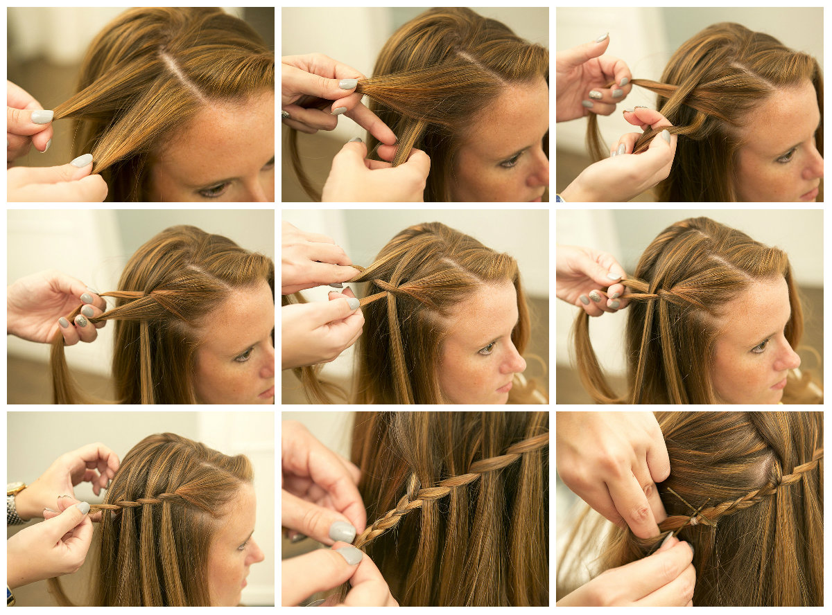 Плетение косичек своими руками на длинные волосы