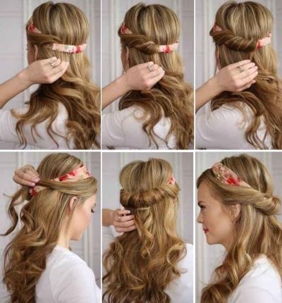 Как сделать греческую прическу на длинный волос