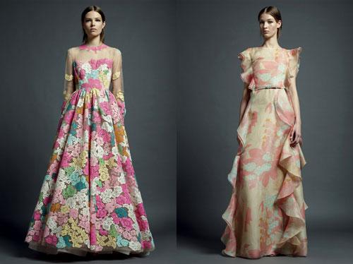 Платья с элементами