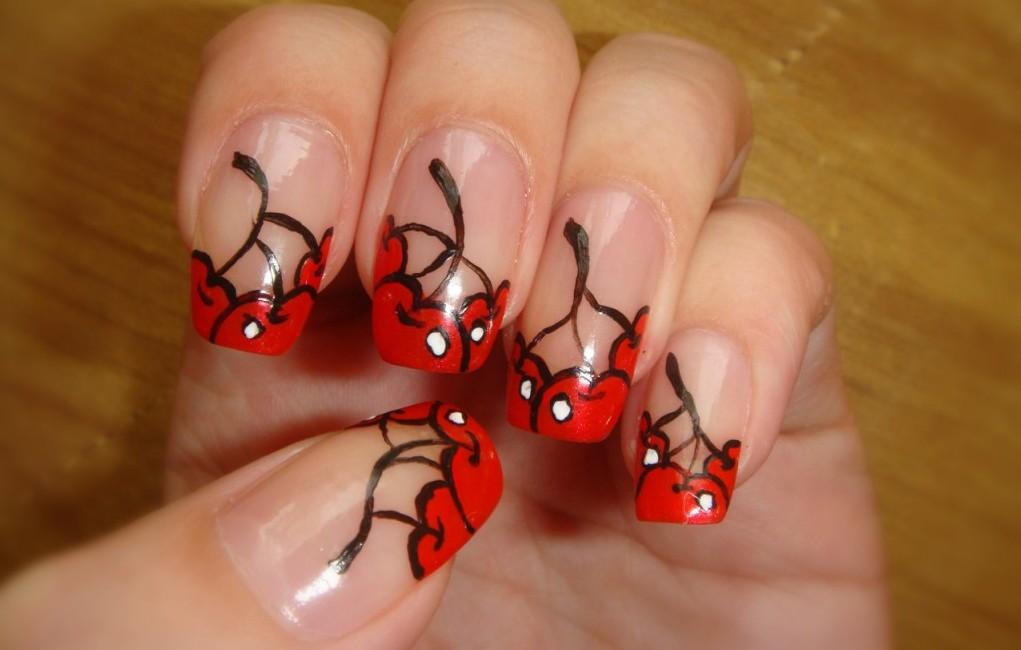 Дизайн ногтей с акриловыми красками для начинающих