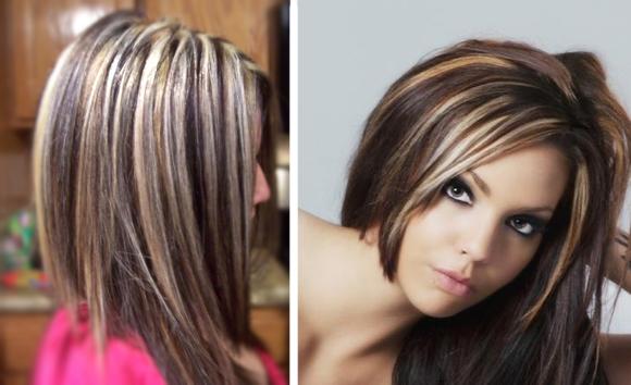 Как покрасить кончики волос в домашних условиях: омбре, балаяж 56