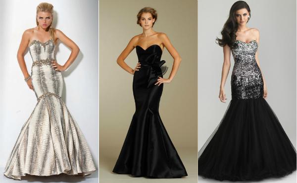 Длинные платья для вечера