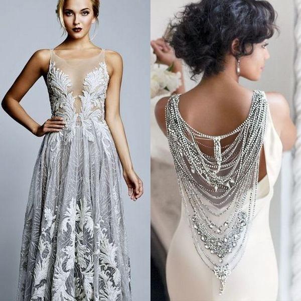 Шикарные красивые модные платья