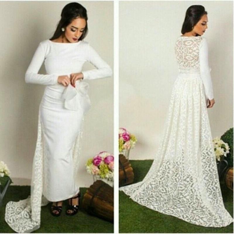 Платья вечерние белые длинные фото
