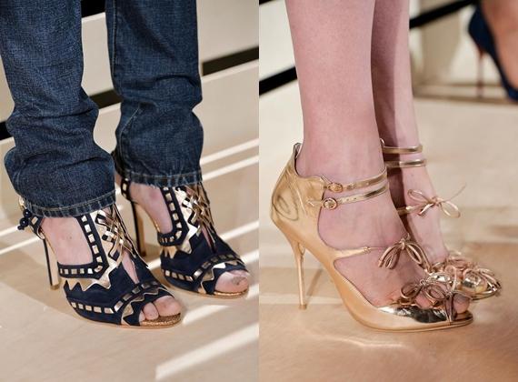 Обувь с ремешками