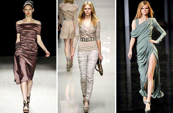 Модная драпировка