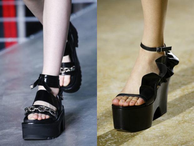 Обувь на сплошной подошве
