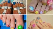 Модный педикюр + фото. Модный дизайн ногтей